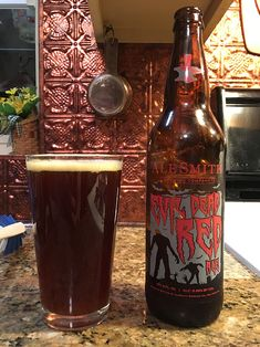 Evil Dead Red by AleSmith Brewing Company; San Diego, CA.