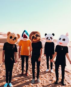 I know that Zach I probably the bunny and Jack could be the Panda but I don't know the othersa little help plz