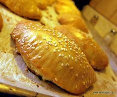 Homemade Tyropitakia (Greek cheese pies)...making these ASAP!