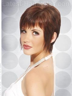 Long Pixie Shag With Texture