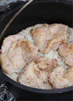 ダッチオーブンで作るアジアン鶏めし by Tale2 【クックパッド】 簡単おいしいみんなのレシピが288万品