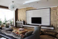 Мебель под ТВ в интерьере
