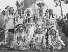 Blackfeet Indians and Shirley Temple
