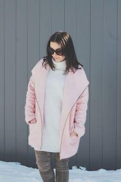 pink coat love//