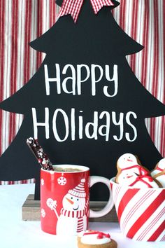 DIY Holiday Coffee Bar | Entertaining and Holiday Party Ideas