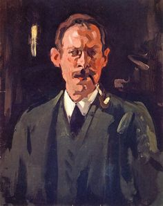 The Athenaeum - Self-Portrait (Samuel John Peploe - )