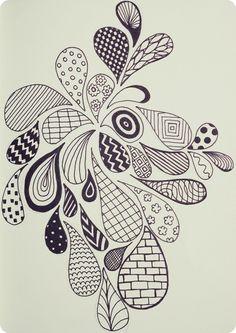 doodle patterns   Zen Doodle Patterns / :-)