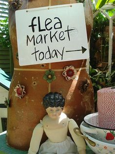 ❤The ol Flea Markets!!!!! Miss it like crazy the way I use to run from one to another❤tha good ol days.....