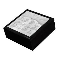 Memories of 2016 Keepsake Box Calendar by Janz Jewelry Box