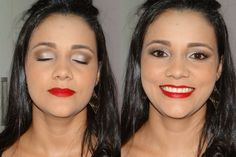 Maquiagem para fotos para o convite de formatura - Leilane - Abril 2014