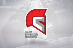 Sparta Bodybuilding by Aleksandar Novakovic - 60 Incredible Spartan Logo Designs for Inspiration | iBrandStudio