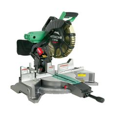 Hitachi® 12 in. Dual Bevel Compound Miter Saw with Laser