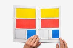 A Minimalist Comic Book That Stares Straight Into Piet Mondrian's Soul - comic by Frédérique Rusch