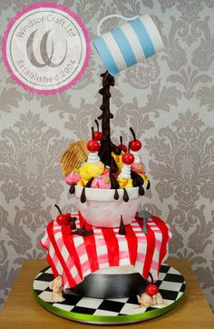 Windsor's GRAVITY DEFYING Cake - Cake by Windsor Craft