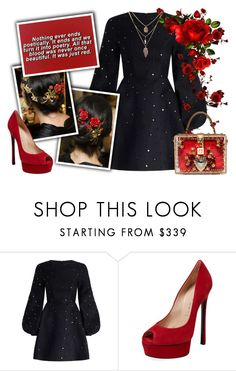 """""""Standard Features 141"""" by antoniasalvato ❤ liked on Polyvore featuring Zimmermann and Casadei"""