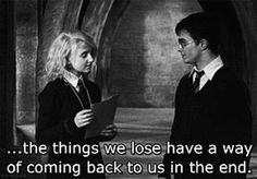 Yes. Yes they do. FAV harry potter quote from movie