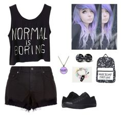 """""""Untitled #228"""" by awakard-jedi-turtle ❤ liked on Polyvore featuring rag & bone and Converse"""