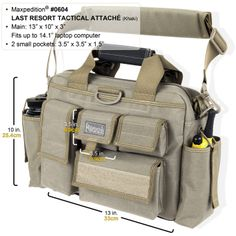 Maxpedition Last Resort Tactical Attache Bail Out Bag Linda S Favorite