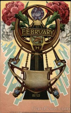 February, Pisces Edward H. Mitchell