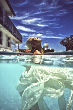 Magical Half-Underwater Photography