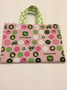 John Deere Pink - Toddler Tote, $15.00
