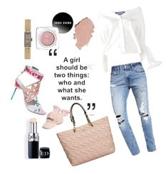 """""""Green Pebbles Girls Weekend Look"""" by greenpebbles on Polyvore featuring Jacquemus, Abercrombie & Fitch, Amici Accessories, Karen Walker, Karl Lagerfeld, Sophia Webster, Couture Colour and Baume & Mercier"""