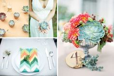 A must read for a succulent wedding.