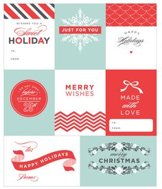 free download | gift tags