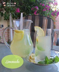 dulces pilukas: Un refrescante sorbete de limón.