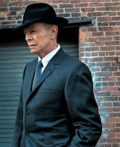 One of the last series of photos of Bowie <3