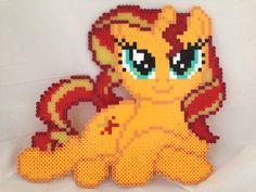 My Little Pony Pony de Perler fixant à caractères par ThePerlerPony