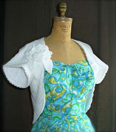 Cute beach cover up from a towel.  Tutorial here.