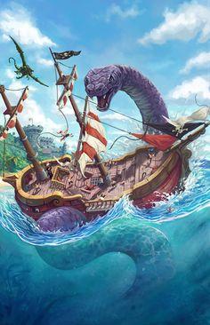 Giant Serpent by Joe Shawcross