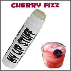 My Lip Stuff <br>Natural Lip Balm <br><b>-CHERRY FIZZ-</b>