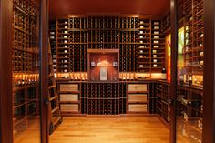 Glass Tile Mural (Wine Cellar) | Designer Glass Mosaics|Designer Glass Mosaics