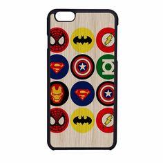 Superhero Logos 2 iPhone 6 Case