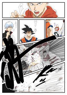 Saitama tries kamehameha and kills Gintoki One Punch Man Manga, Anime Crossover, Elsword, Saitama One Punch Man, Attack On Titan Funny, Manga Cute, Otaku, Naruto Pictures, Anime Japan