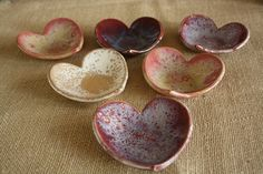 Valentine's Day Heart Bowl or Ring Dish. $20.00, via Etsy.