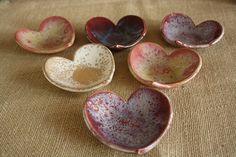 Valentine's Day Heart Bowl or Ring Dish. $20.00, via Etsy.