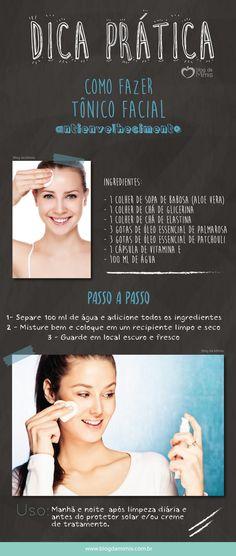 Dica prática: tônico facial antienvelhecimento caseiro - Blog da Mimis #antienvelhecimento #caseiro #tônico #diy