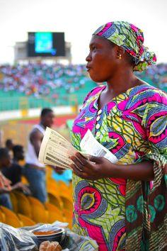 Vendor at Baba Yara -Kumasi, Ghana