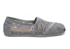 i know i already have two pairs of gray toms. but i'm in love with these