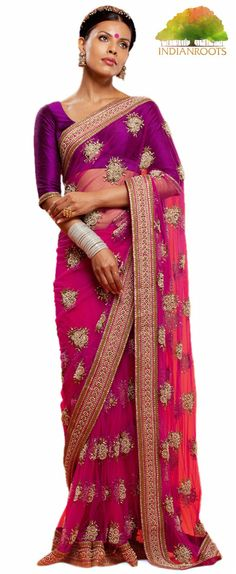 The Apsara Saree by Sabyasachi at Indianroots.com