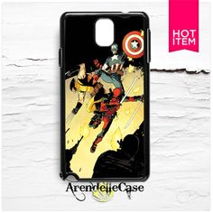 Captain America Wolverine Samsung Galaxy Note 3 Case
