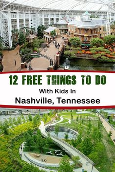 An article showcasing 12 things for families with kids to do while vacationing in Nashville, Tennessee that are completely free. Visit Tennessee, Tennessee Vacation, Nashville Tennessee, Nashville Things To Do, Nashville Trip, Clarksville Tennessee, National Parks Usa, Travel Humor, Free Things To Do