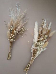 Small Bouquet, Dried Flower Bouquet, Dried Flowers, Bud Vases, Flower Vases, Wedding Coursage, Flower Decorations, Wedding Decorations, Floral Wedding