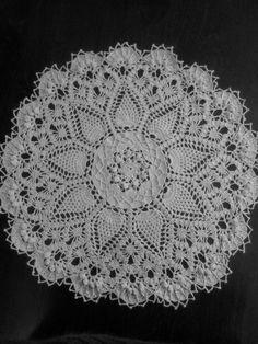 large crochet Doily by shop550 on Etsy