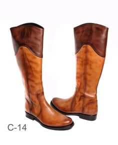 Corvari Style # C-14 Florence Cuoio avail at www.Hautefootwear.com