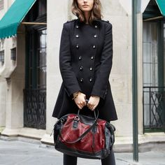 Fancy - Wool Blend Coat by Via Spiga