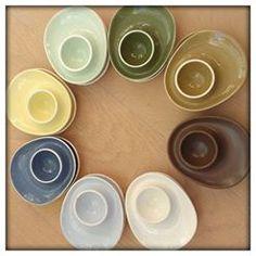 Min samling: Sissel grønn, blå, oliven og gul. Rolf, hvit, Dais, Smørblomst Plates, Tableware, Design, Olives, Licence Plates, Dishes, Dinnerware, Griddles, Tablewares